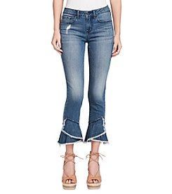 Jessica Simpson Forever Ruffle Hem Ankle Jeans
