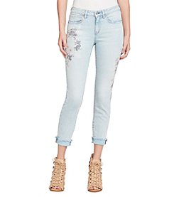 Jessica Simpson Forever Floral Ankle Jean