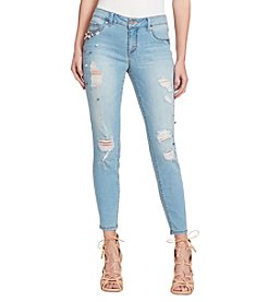 Jessica Simpson Kiss Me Skinny Pearl Ankle Jeans