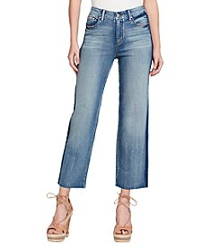 Jessica Simpson Adored Straight High-Rise Ankle Shadow Jeans