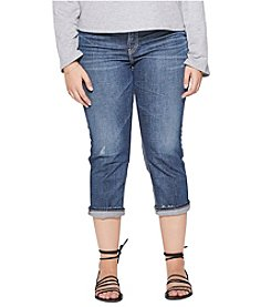 Silver Jeans Co. Plus Size Elyse Cuffed Capris