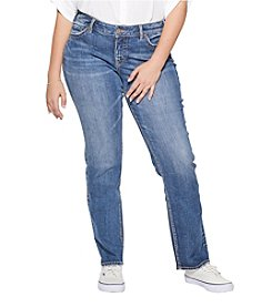 Silver Jeans Co. Plus Size Suki Straight Leg Jeans
