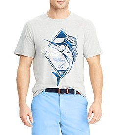 Chaps Men's Big & Tall Blue Water Graphic Tee