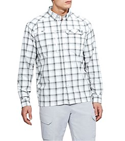 Under Armour Men's Fish Hunter Long Sleeve Plaid Shirt