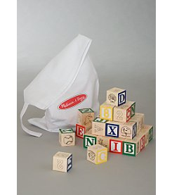 Melissa & Doug® ABC 123 Blocks