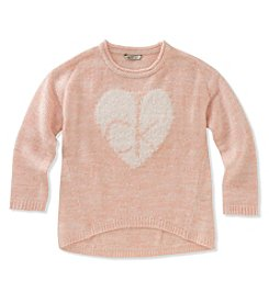 Calvin Klein Girls' 7-16 Long Sleeve Cozy Sweater