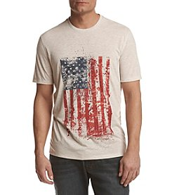 Ruff Hewn Men's Distressed Americana Flag Graphic Tee