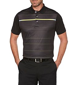 PGA TOUR Men's Big & Tall Short Sleeve Printed Lumino Polo