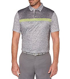 PGA TOUR Men's Big & Tall Short Sleeve Body Map Effect Polo