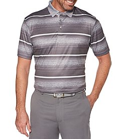 PGA TOUR Men's Big & Tall Short Sleeve Heather Variegated Polo