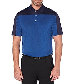 PGA TOUR Men's Big & Tall Short Sleeve Colorblocked Polo