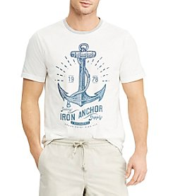 Chaps Men's Iron Anchor Graphic Tee