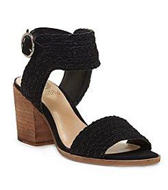 Prenda Black Mid Heel Sandals By Vince Camuto el5meccI
