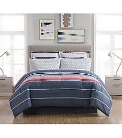 Living Quarters 8 Pc Drew Stripe Comforter Set
