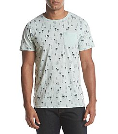 DVISION Men's Short Sleeve Tropical Print Tee