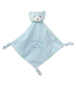Little Me Lovey Teddy Bear Blanket Plush