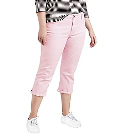 Levi's Plus Size Shaping Denim Capri