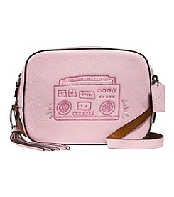 COACH BOOMBOX CAMERA BAG IN PEBBLED LEATHER