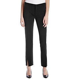 MICHAEL Michael Kors Slit Cuff Stretch Pants