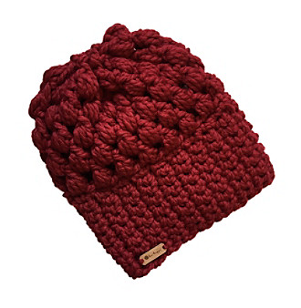 6be3fb94 b.e.happe Designs Cranberry Puff Stitch Slouch Hat | Herberger's