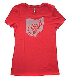 Megan Lee Designs Script Ohio Tee