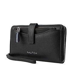 Nautica Wristlet And Pouch Set