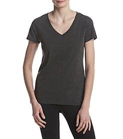 Exertek Dual Blend Heather Pattern V-Neck Tee