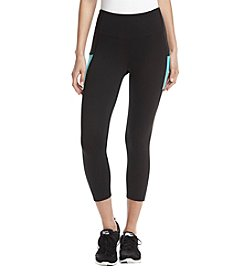 Exertek Flex Colorblocked Design Cropped Leggings