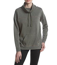 Exertek Drawstring Funnel Neck Pullover Sweatshirt