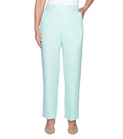 Alfred Dunner Stretch Paneled Design Pants