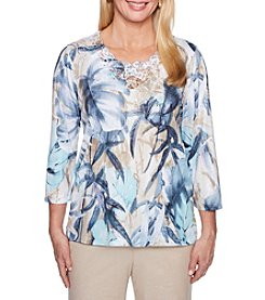 Alfred Dunner Print Top