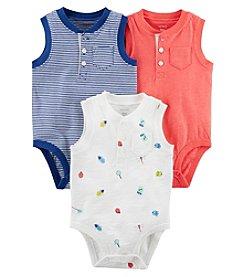 27b1175aa376 Carter s Baby Boys  3M-24M 3 Pack Tank Top Original Bodysuits