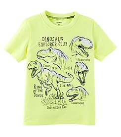 Carter's Boys' 2T-8 Short Sleeve Dino Explorer Tee