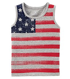 Carter's Boys' 2T-8 Flag Tank Top