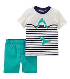 Carter's Boys' 2T-5T 2-Pc. Shark Top And Shorts Set