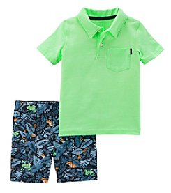 Carter's Boys' 2T-5T 2-Pc. Polo And Shorts Set