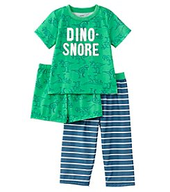 Carter's Boys' 3-Pc. Dino Snore Jersey Pajama Set