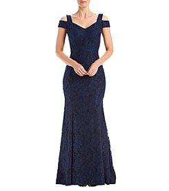 Xscape by Joanna Chen one shoulder dress | Shoulder dress, Chen and Xscape  dresses
