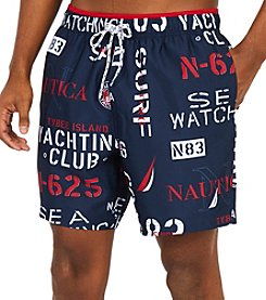 Nautica Men's Yacht Club Swim Trunks