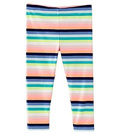 Carter's Girls' 4-8 Striped Print Leggings