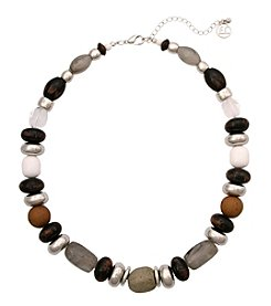 Erica Lyons On The Rocks Beaded Necklace