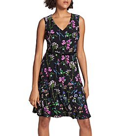 Tommy Hilfiger Floral Printed Swing Dress