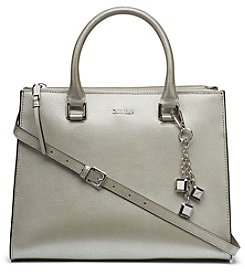 Calvin Klein Logan Leather Satchel