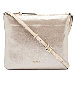 Calvin Klein Lily Medium Suede Crossbody