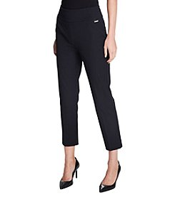 Calvin Klein Cropped Pull On Pants