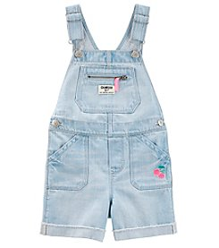 OshKosh B'Gosh Girls' 3 Months-5T Denim Shortalls