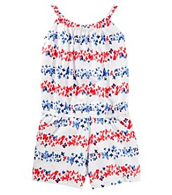 OshKosh B'Gosh Girls' 4-14 Floral Romper