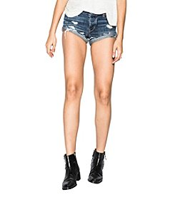 Silver Jeans Co. Distressed Detail Shorts