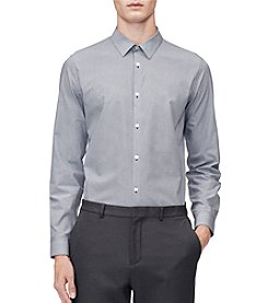 Calvin Klein Men's Infinite Fit Long Sleeve Button Down