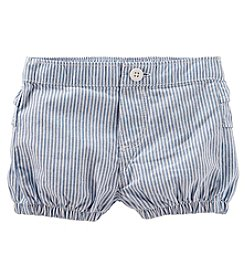 OshKosh B'Gosh Baby Girls' 3M-24M Striped Ruff Shorts